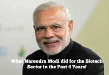 What Narendra Modi did for the Biotech Sector in the Past 4 Years!