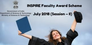 INSPIRE Fellowship Scheme 2018