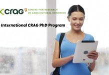 2018 International CRAG PhD Program