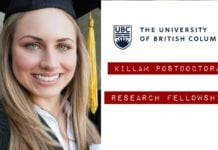 Killam Postdoctoral Research Fellowships
