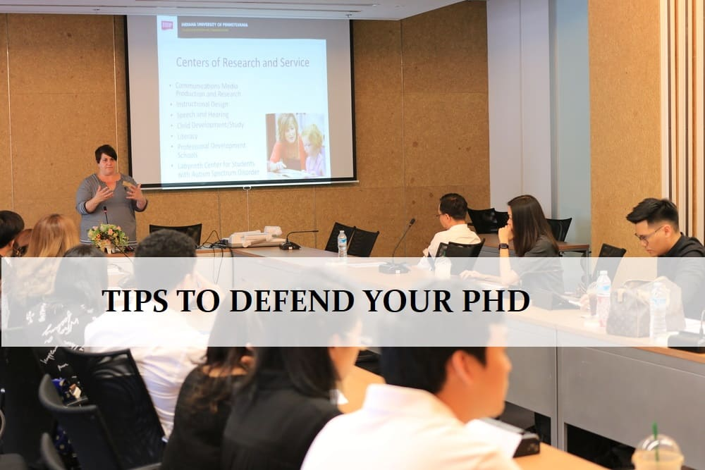 Top 10 Suggestions To Defend Your PhD Successfully