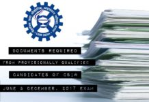 CSIR Notice : Documents Required from Candidates of CSIR 2017 Exam