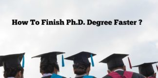 Smart Strategies To Finish Ph.D. Degree Faster Without Delays