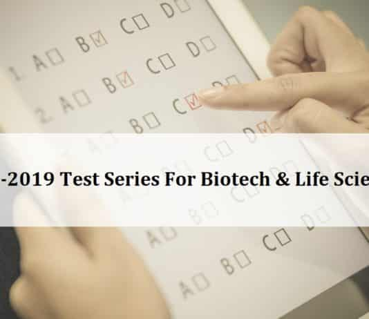 GATE Biotech & GATE Life Science Test Series - AIMGATE 2019