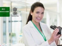 50+ Biosciences Govt Staff Selection Commission (SSC) Recruitment 2018