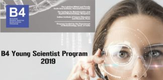 B4 Young Scientist Program 2019