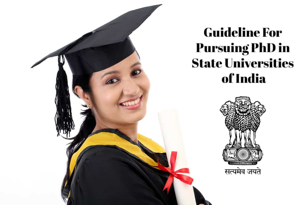 Guideline For Pursuing PhD in State Universities of India