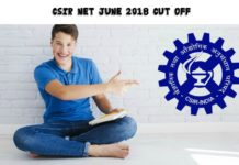 Official CSIR NET Exam June 2018 Cut Off Released
