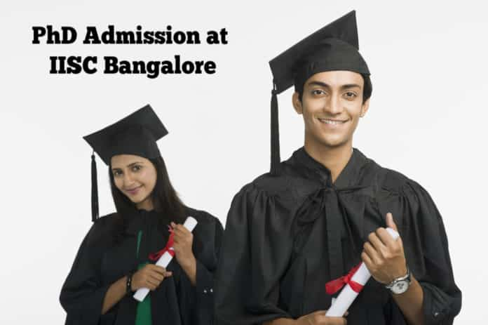 PhD Admissions at IISC Bangalore - Frequently Asked Questions