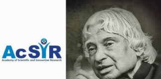 AcSIR – Dr. APJ Abdul Kalam Summer Training