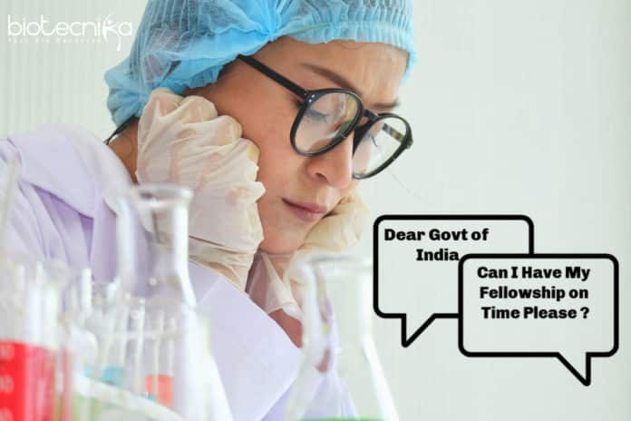A Letter To Govt of India Requesting Hike In Research Fellowship