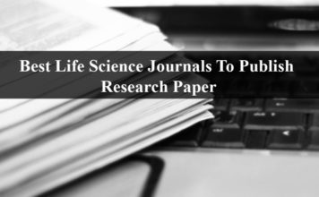 Best Life Science Journals To Publish Your Research Paper