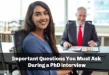 Important Questions You Must Ask During a PhD interview