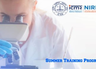 ICMR-NIREH Summer Training Programme