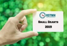 RSTMH Small Grants 2019