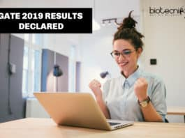 GATE 2019 Results Announced - Check GATE Result, Score Card