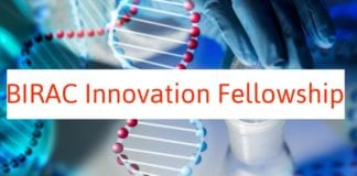 BIRAC Innovation Fellowship