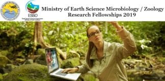 Ministry of Earth Sciences 2019 Careers