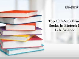 Top 10 GATE Exam Books & Study Materials In Biotech & Life Science
