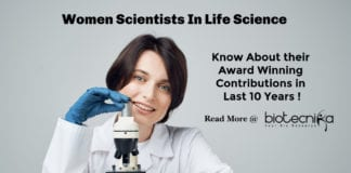 Women Scientists In Life Science - Contribution In Past 10 years