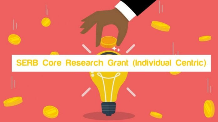 SERB Core Research Grant