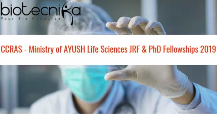 CCRAS - Ministry of AYUSH