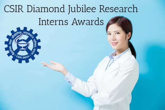 CSIR-Diamond Jubilee Research