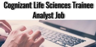 Cognizant Life Sciences Trainee