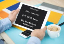 JNU CEEB Exam For Msc Biotech Admissions - Eligibility, Syllabus