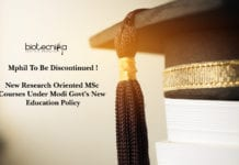 Mphil To Be Discontinued, New Research Oriented MSc Courses Under Modi Govt's New Education Policy