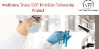 Wellcome Trust/ DBT PostDoc