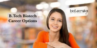 B.Tech Biotech Career Options Available, Scope & Average Salary