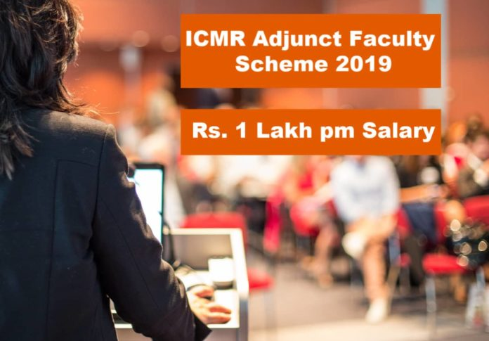 ICMR Adjunct Faculty Scheme