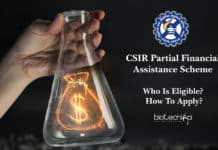 CSIR Partial Financial Assistance Scheme - Who Is Eligible?