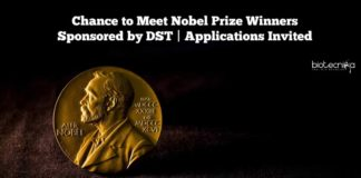 Chance to Meet Nobel