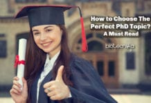How to Choose The Perfect PhD Topic? - A Must Read