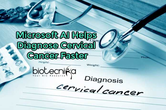 Microsoft-AI diagnoses cervical cancer