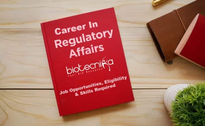 Regulatory Affairs Career