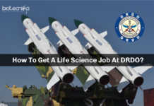 DRDO Life Science Jobs