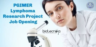 PGIMER Cell Biology Job