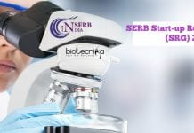 SERB Start-up Research Grant