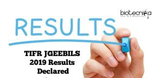 TIFR JGEEBILS 2019 Results Declared