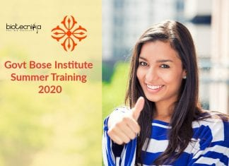 Bose Institute Summer Training