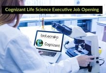 Cognizant Life Science Executive