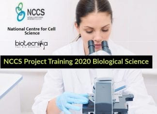 NCCS Project Training 2020