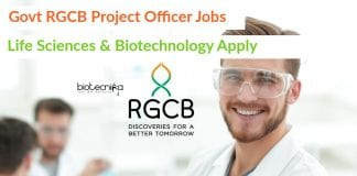 RGCB Jobs Latest