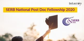 SERB-National Post Doc Fellowship