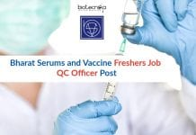 Bharat Serums and Vaccine Freshers