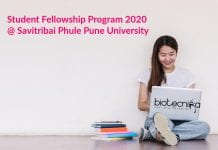 Student Fellowship Program 2020