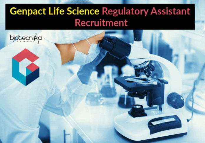 Genpact Life Science Regulatory